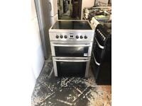 Beko ceramic electric cooker 60 cm stainless steel