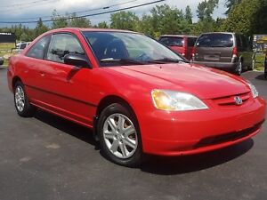 2003 Honda Civic Cpe AUTO 2DR 122K SAFETIED LX