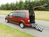 2014 Volkswagen Caddy Maxi Life 1.6 Hdi 13K Wheelchair Accessible Vehicle