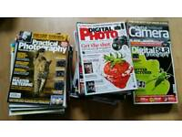 Various photography magazines
