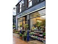 Williamson Design Florist Dunfermline are looking for a part time florist assistant