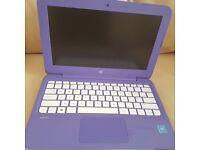HP Laptop , purple