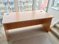 OFFICE DESK, HEAVY DUTY & HIGH QUALITY, WOODEN, IMMACULATE!