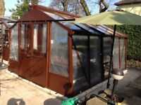 Greenhouse -quality -alton- ready to go -easily dismantled.OFFERS CONSIDERED