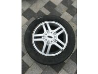 "15"" Ford Focus Alloy with tyre"