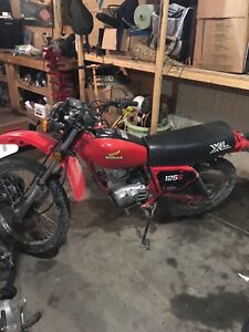 1982 Honda xl125 for sale or trade for quad.