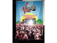 10th anniversary V Festival programme