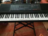 Casio CTK-550 keyboard with stand, 4 books and pedal