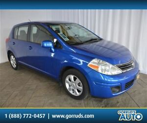 2012 Nissan Versa SL/AUTOMATIC/AC/CRUISE/CD PLAYER/ALLOY RIMS