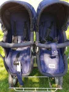StrollAir Duo double stroller