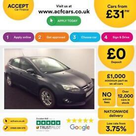 Ford Focus Titanium Navigator FROM £31 PER WEEK!