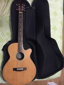 Elecord Acoustic Electric guitar.