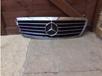 Mercedes S Class grill