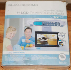 "Electrohome Under Counter 7"" LCD TV / Radio"