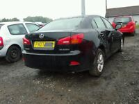 BIG VARIETY OFF PARTS AVAILABLE FOR 2007 LEXUS IS 220D ENGINE GEARBOX BODY PARTS