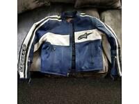 Alpinestars Leather Jacket NWOT