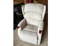 Rise and Recline Motorised Chair. HSL make. Linton, Standard Size, Dual Motor.