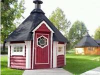 BBQ Hut Shed
