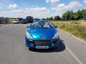 Great Peugeot convertable- only 44,100 miles