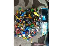 Large selection of knex