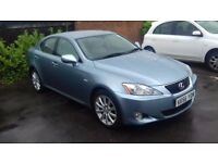 NEW LISTING PRICE REDUCED LEXUS IS 220D BlUE 6 SPEED MANUAL EXECUTIVE SALOON EXCELLENT CONDITION
