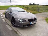 BMW 6 SERIES 3.0 630I SPORT 2d AUTO 258 BHP 6 Month RAC Parst & Labour Warranty