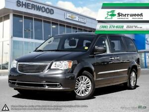 2016 Chrysler Town & Country Leather/Roof/NAV & Dual DVD!!