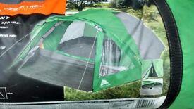 Ozark 4 person dome tent easy erect with porch