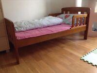 John Lewis Boris Toddler Bed - £40