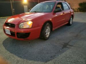 $2400 obo Subaru impreza ts wagon as is
