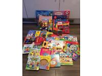 Large lot of toddler books