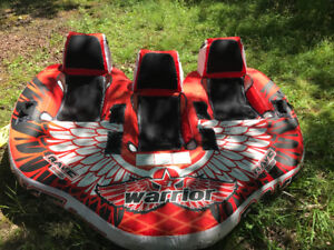 3 seater warrior towable tub
