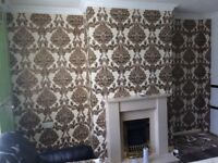 £60 PER FEATURE WALLPAPER FITTING***24 HOUR CALL OUT SERVICE*** FEATURE WALLS DECORATOR