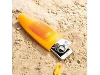 Sun lotion safety bottle