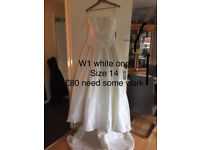 wedding and bridesmaids dresses