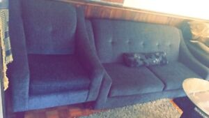 Brand new two Sofa with table