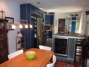 Plateau! Top floor condo with private rooftop deck!