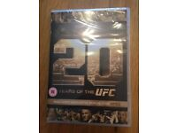 UFC DVD - 20 years of the UFC (brand new still in packaging!!)