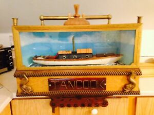 Fantastic Large Tancook Nova Scotia Nautical Diorama
