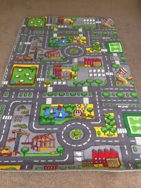 Toy road mat'as new