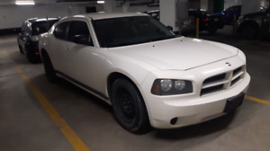 WHITE 2008 DODGE CHARGER V6 SEDAN!! FIRST $2200 TAKES IT TODAY!!