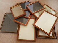 Picture frames selection