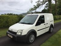 AMAZING CONDITION FOR A 2004. ford transit connect 1 council owner lowest miles in the uk