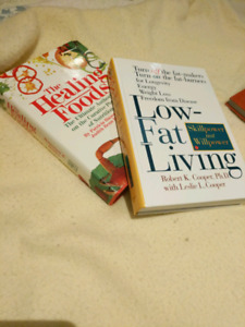 3 books about healthy living