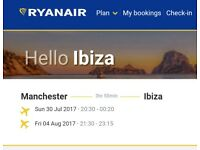 Ibiza Flight Tickets Manchester 30/07 - 04/08