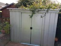 Garden shed anti-corrosive