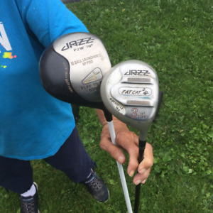 Rh Jazz Driver and 3 Wood for Sale