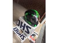 SHOEI Motorcycle Helmet. Size XL.