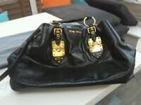 Designer mui mui large bag