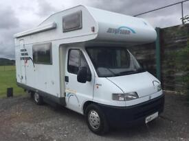 2000 2.8TD Hymer Swing 544 Four Berth Motorhome